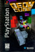Geom Cube PlayStation Front Cover