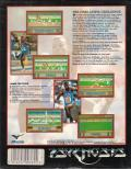 The Carl Lewis Challenge DOS Back Cover