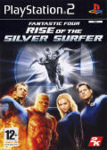 Fantastic Four: Rise of the Silver Surfer PlayStation 2 Front Cover