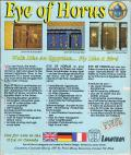 Eye of Horus Amiga Back Cover