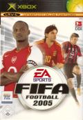 FIFA Soccer 2005 Xbox Front Cover