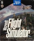 Microsoft Flight Simulator (v5.0) DOS Front Cover