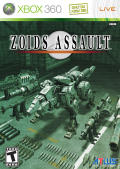 Zoids Assault Xbox 360 Front Cover