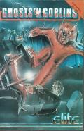 Ghosts 'N Goblins Commodore 64 Front Cover