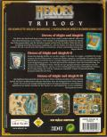 Heroes of Might and Magic Trilogy Windows Back Cover