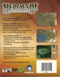 Heroes of Might and Magic IV Complete Windows Back Cover