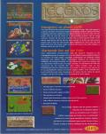 Legends DOS Back Cover