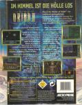 Master of Orion II: Battle at Antares DOS Back Cover