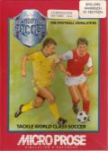 Keith Van Eron's Pro Soccer Commodore 64 Front Cover