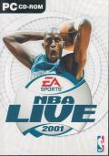 NBA Live 2001 Windows Front Cover