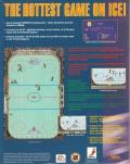 NHL Hockey   DOS Back Cover