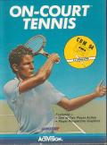 On-Court Tennis Commodore 64 Front Cover