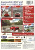 OutRun 2 Xbox Back Cover