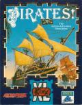 Sid Meier's Pirates! DOS Front Cover