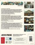 Pirates! Gold DOS Back Cover