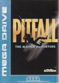 Pitfall: The Mayan Adventure Genesis Front Cover