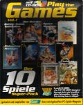 Play the Games Vol. 1: Der 10 Spiele Super-Pack DOS Front Cover