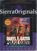 Daryl F. Gates Police Quest: Open Season DOS Front Cover