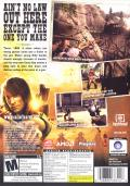 Call of Juarez Windows Other Keep Case - Back
