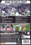 Madden NFL 07 Xbox 360 Back Cover