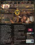 Quarantine DOS Back Cover
