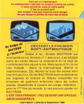 Bactron Amstrad CPC Back Cover