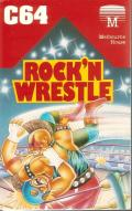 Bop'N Wrestle Commodore 64 Front Cover