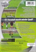 Sensible Soccer 2006 Xbox Back Cover