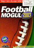 Football Mogul 2003 Windows Front Cover