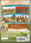 The Settlers II: 10th Anniversary Windows Back Cover