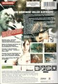 Silent Hill 4: The Room Xbox Back Cover