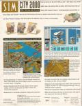 SimCity 2000: CD Collection Windows 3.x Back Cover
