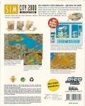 SimCity 2000: CD Collection Windows Back Cover