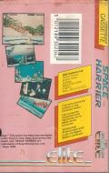 Space Harrier Commodore 64 Back Cover
