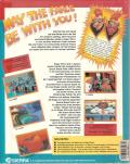 Space Quest IV: Roger Wilco and the Time Rippers Amiga Back Cover