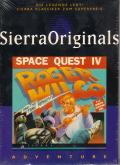 Space Quest IV: Roger Wilco and the Time Rippers Windows 3.x Front Cover