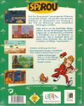 Spirou DOS Back Cover
