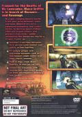 Mace Griffin: Bounty Hunter PlayStation 2 Back Cover