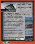Aces of the Deep: Expansion Disk DOS Back Cover