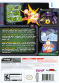 Worms: A Space Oddity Wii Back Cover
