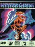 Winter Games MSX Front Cover