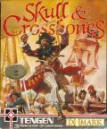 Skull & Crossbones Commodore 64 Front Cover