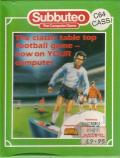 Subbuteo Commodore 64 Front Cover