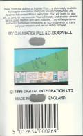 Tomahawk Commodore 64 Back Cover
