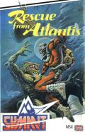 Rescue from Atlantis MSX Front Cover