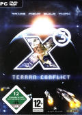 X³: Terran Conflict Windows Front Cover