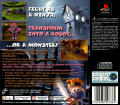 40 Winks PlayStation Back Cover