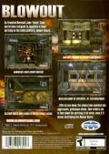Blowout PlayStation 2 Back Cover