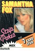 Samantha Fox Strip Poker MSX Front Cover