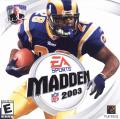 Madden NFL 2003 Windows Other Jewel Case - Front